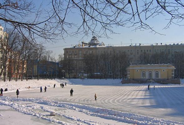 "Каток ""Горки-город"" на Патриарших - Фото №1"
