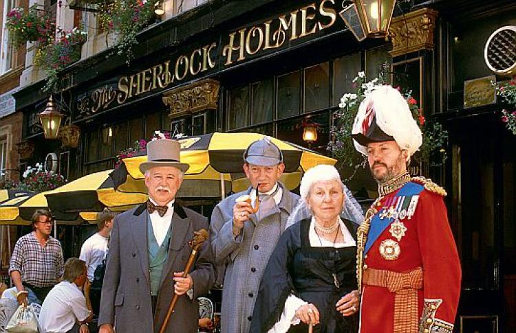 Англия Шерлока Холмса