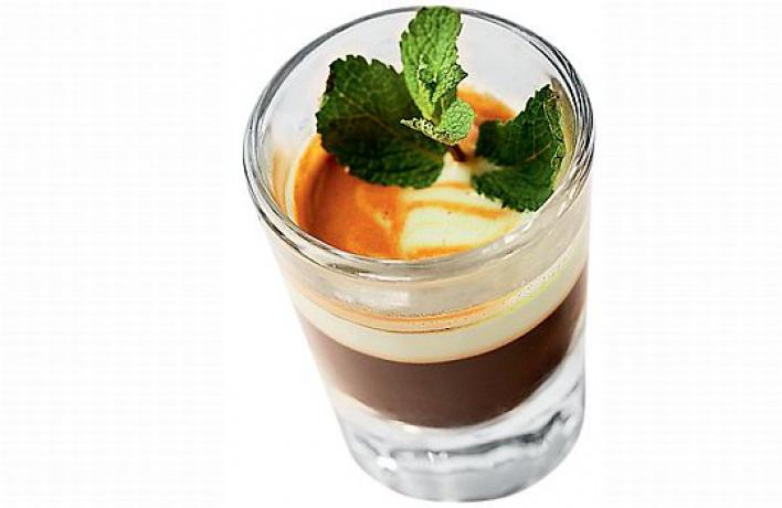 Авторские кофейные коктейли в«Кофеине»