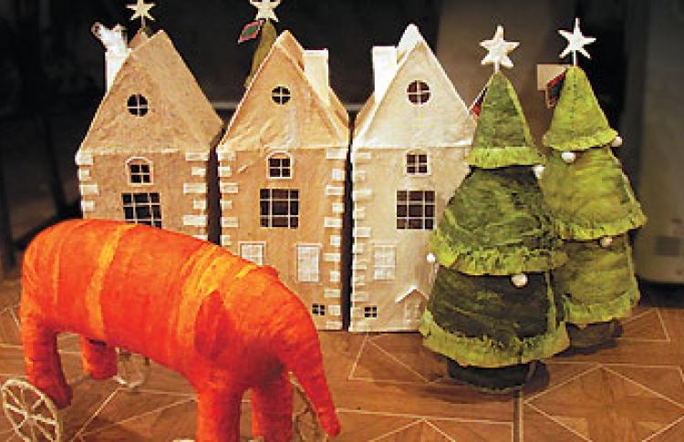 Антикварная рождественская ярмарка