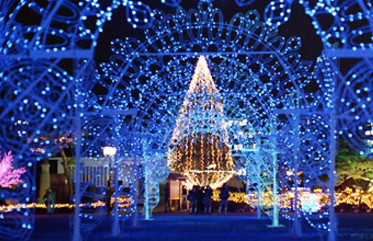 Первый российский фестиваль света в Москве