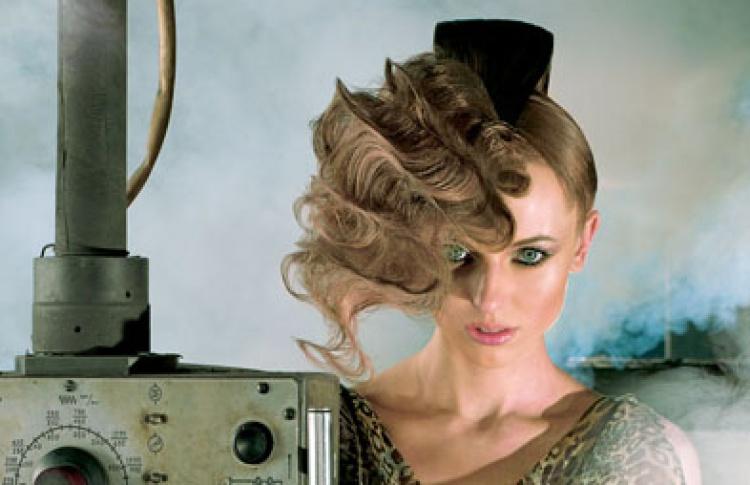 """Открытый проект Hair.Fashion.Art: шоу-показ коллекции Весна/Лето 2010 """"Роза Ветров/Wind Rose"""" от ESTEL Professional"""