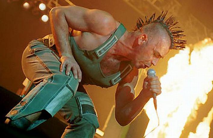 Наконцертах Rammstein будет пиротехническое шоу