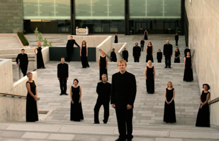 Камерный хор Эстонской филармонии, дирижер Д. Ройс