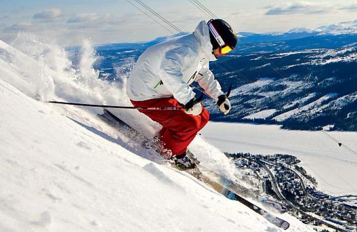 Шведский горнолыжный курорт Оре