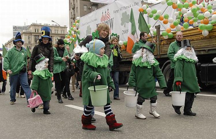 Москвичи отметят День Святого Патрика