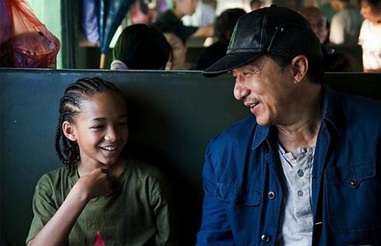 Новый трейлер к«Каратэ-пацану»: Джеки Чан показывает настоящее кунг-фу