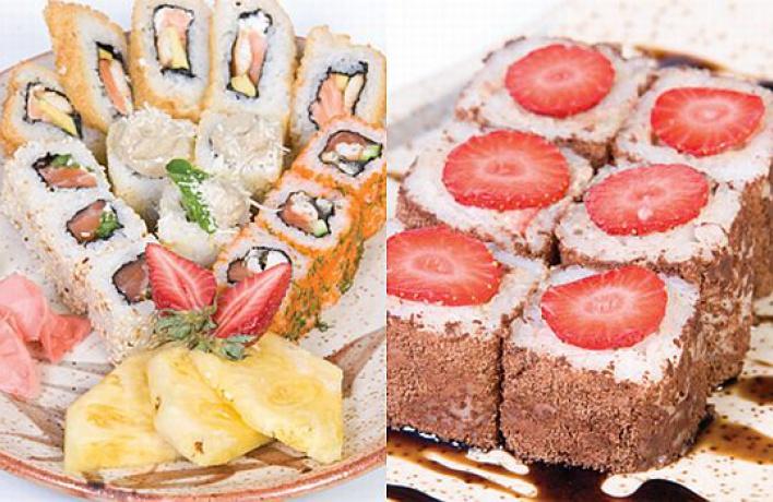 Ароматная весна извездопад для девушек всети ресторанов «Нияма»!