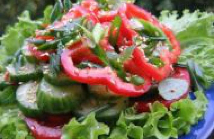 Весенние салаты рецепты и
