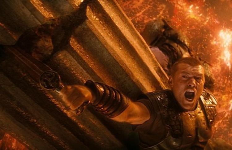 «Битва титанов»: репортаж сосъемок