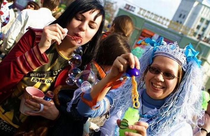 НаАрбате пройдет парад мыльных пузырей