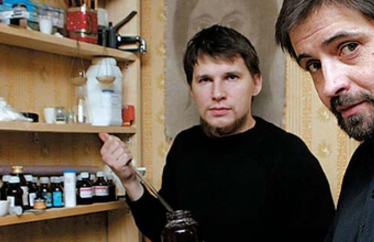 Денис Егельский и Станислав Макаров