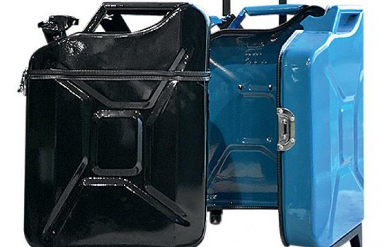 Новые чемоданы-канистры