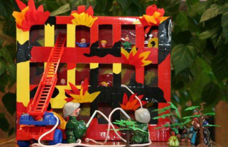 Поделки для сада своими руками по пожарно 532