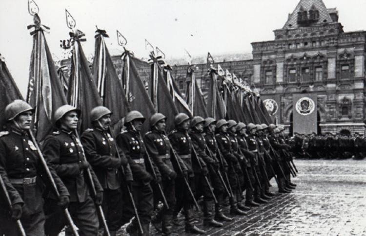 Парад Победы. 24 июня 1945 года
