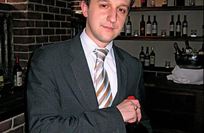 Карл Кутцельник, директор ресторанной службы отеля Kempinski Moika 22