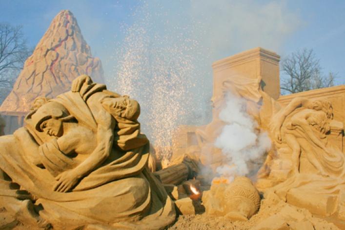 IX Международный фестиваль песчаных скульптур