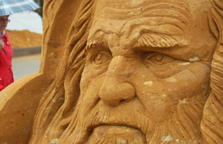 Выставка песчаной скульптуры