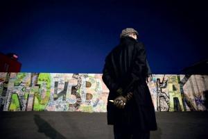 Русские стрит-арт художники оБэнкси исебе
