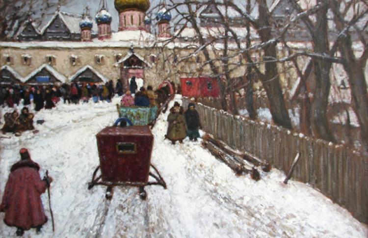 Москва в творчестве русских художников XIX-XX веков