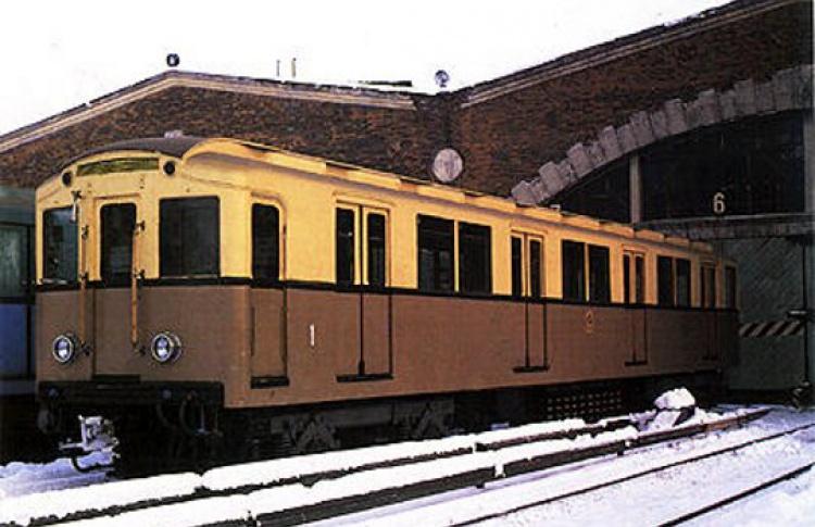 Поезд 1934 года запустили вметро