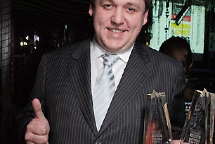 Церемония награждения ресторанной премией Меню&Счет