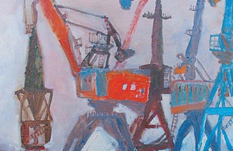 """""""Общество любителей живописи и рисования"""". """"Пейзажи. Картины и рисунки 2004-2006 гг."""""""