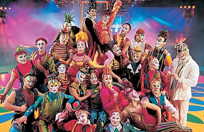 Шоу Corteo Cirque duSoleil