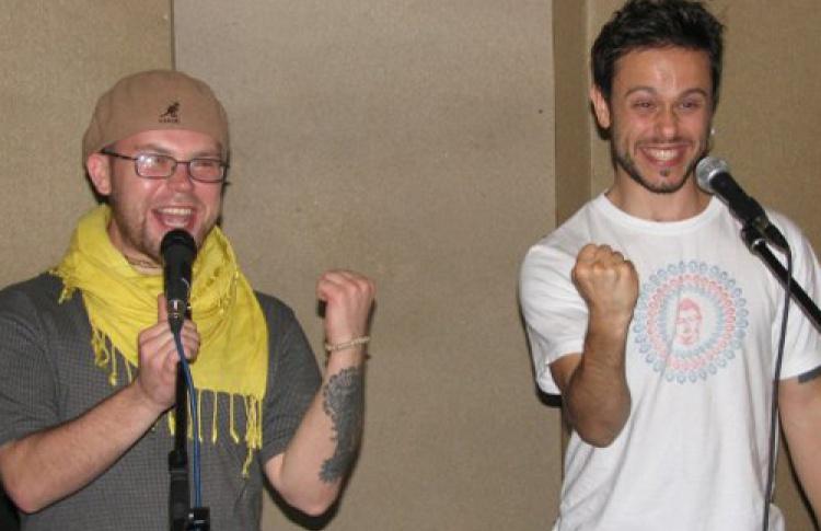 """""""Одноно"""" и Андрей Sun Запорожец (экс-5'nizza, Sunsay). Презентация альбома """"Свободный или мертвый"""""""
