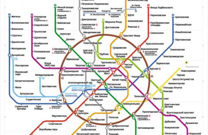 Всети появилась альтернативная карта метрополитена