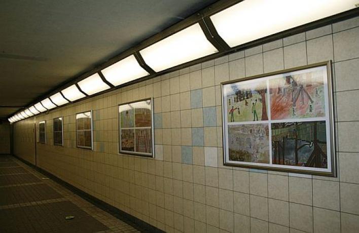 Художники проведут выставку вавтомобильном туннеле