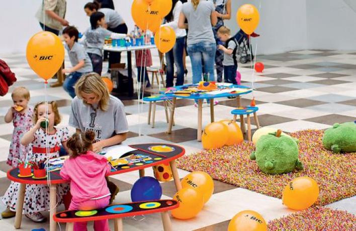 ВТЦ«Вегас» новая детская площадка