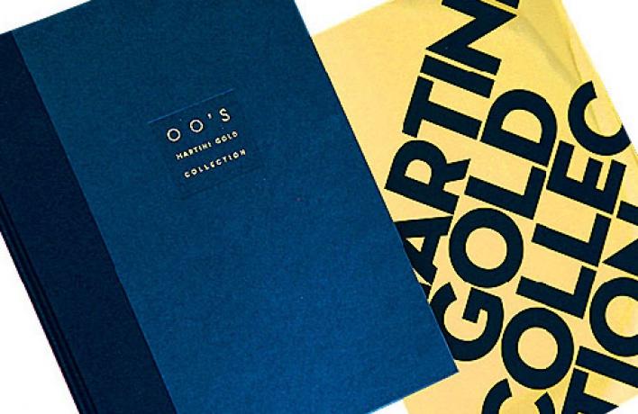 Третий том культовой книги Martini Gold Collection получился необычным.