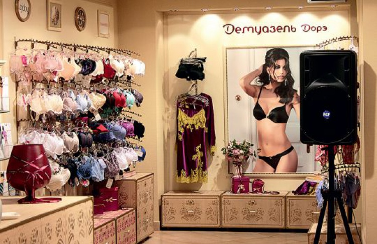Новая сеть салонов белья «Демуазель Дорэ»