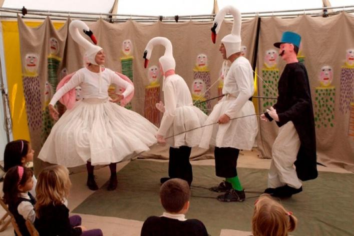 Бродячий театр-цирк Giroldon