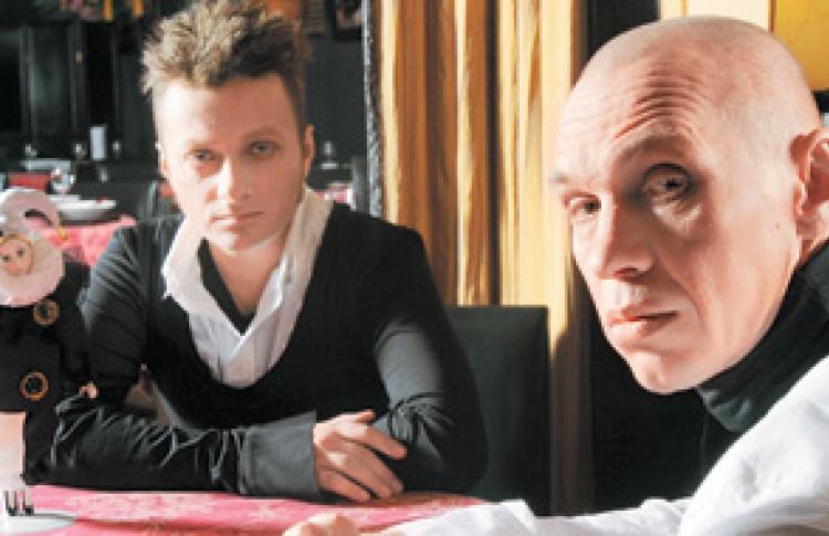 Александр Ф. Скляр и Глеб Самойлов