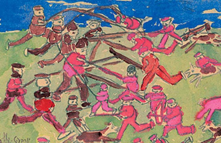 Беспризорники - ученики Шагала