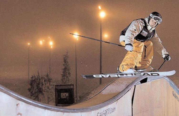 Сноуборд за бугром