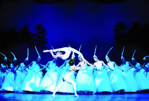 """Китайский акробатический балет """"Лебединое озеро"""" - Фото №0"""