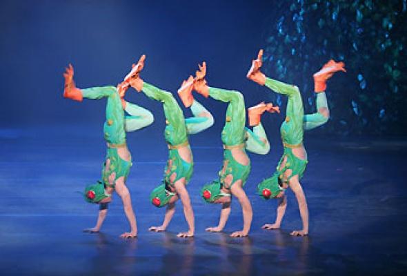 """Китайский акробатический балет """"Лебединое озеро"""" - Фото №1"""