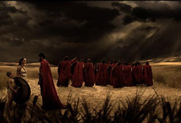 300 спартанцев - Фото №9
