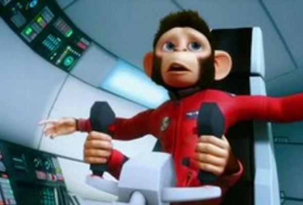 Мартышки в космосе: Ответный удар 3D - Фото №0
