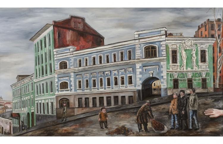 Мы жили в Москве
