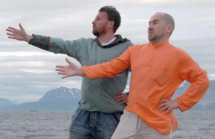 Синие носы: Александр Шабуров и Вячеслав Мизин