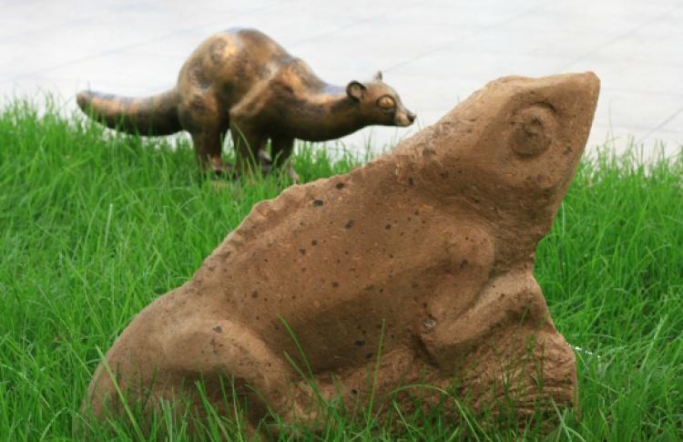 Зимний сад - сад скульптуры