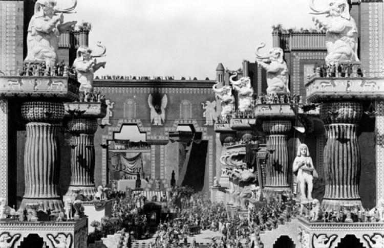 Фестиваль 100 лет Голливуду: Немое кино + Живая музыка. Нетерпимость (реж. Дэвид Гриффит) + Андрей Суротдинов (группа Аквариум)