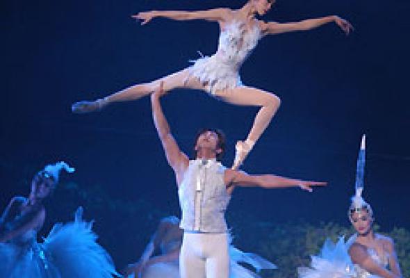"""Китайский акробатический балет """"Лебединое озеро"""" - Фото №6"""