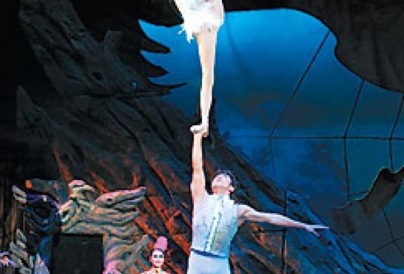 """Китайский акробатический балет """"Лебединое озеро"""" - Фото №7"""