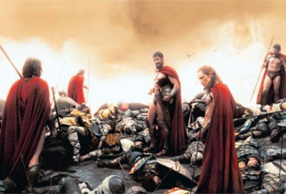 300 спартанцев - Фото №11