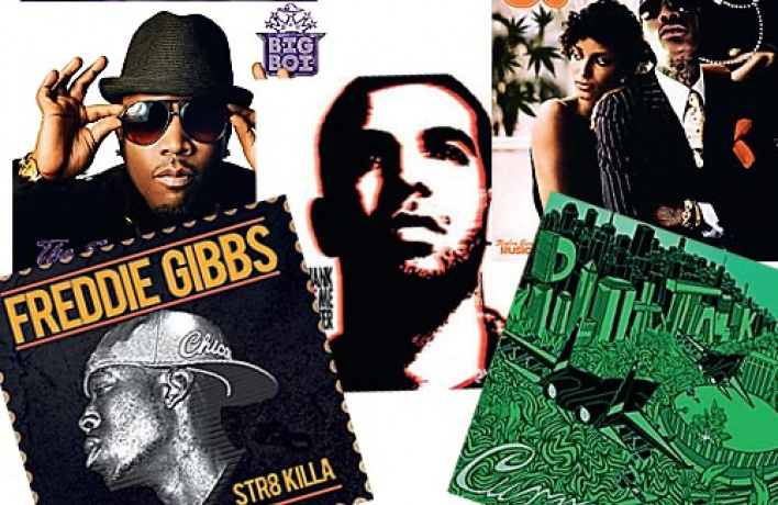 Новые хип-хоп-альбомы